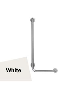 Armitage Shanks Contour 21 Angled Shower Grab Rail 900mm Length - LH White AS10217