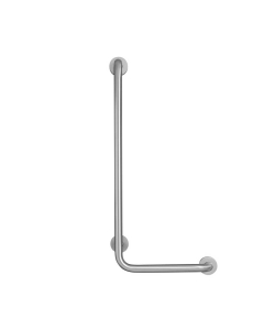 Armitage Shanks Contour 21 Angled Shower Grab Rail 900mm Length - LH Stainless Steel AS10225