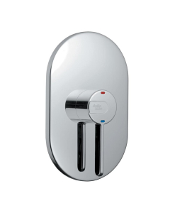 Armitage Shanks Contour 21 Thermostatic Concealed Shower Mixer Valve Lever Operated Chrome - A4129AA AS10256