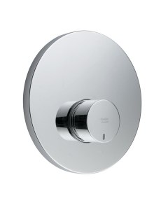 Armitage Shanks Contour 21 Self Closing Shower Valve with Concealing Plate Non Mixing Chrome - B8266AA AS10251