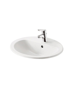 Armitage Shanks Orbit 21 Countertop Basin with Overflow 550mm Wide - 1 Tap Hole AS10056