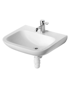 Armitage Shanks Portman 21 Wall Hung Basin No Overflow 600mm Wide - 1 Tap Hole AS10072