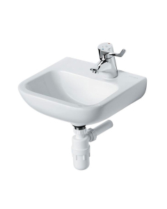 Armitage Shanks Portman 21 Wall Hung Cloakroom Basin No Overflow 400mm Wide - 1 RH Tap Hole AS10023