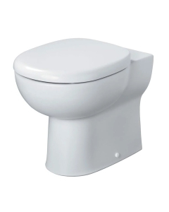 Armitage Shanks Profile 21 Back To Wall Toilet 550mm Projection - Soft Close Seat AS10120