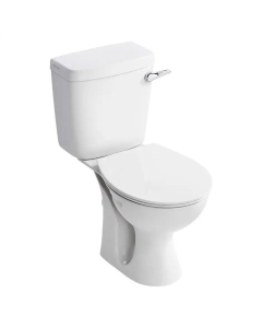 Armitage Shanks Sandringham 21 Close Coupled Toilet with Bottom Supply Lever Cistern Standard Seat AS10116