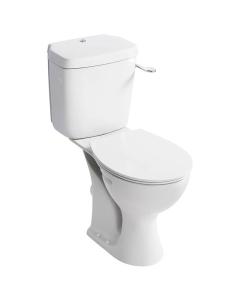 Armitage Shanks Sandringham 21 Close Coupled Toilet with Single Flush Cistern - Standard Seat AS10115