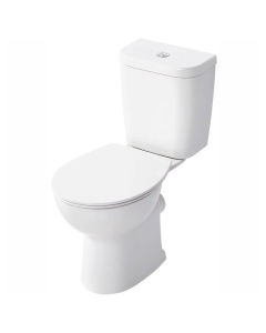 Armitage Shanks Sandringham 21 Close Coupled Toilet with Dual Flush Cistern - Soft Close Seat AS10106