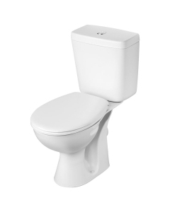 Armitage Shanks Sandringham 21 Eco Close Coupled Toilet with Push Button Cistern - Standard Seat AS10092