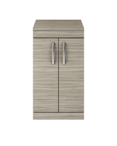 Nuie Athena Driftwood Contemporary 500 Floor Standing 2-Door Vanity With Worktop - ATH001W ATH001W