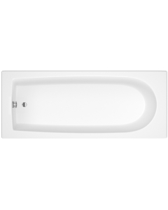 Nuie Barmby White Contemporary Standard Single Ended Bath 1700x700 - NBA609 NBA609