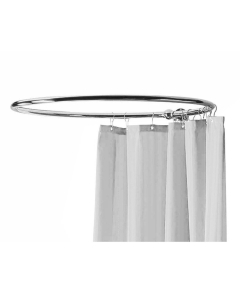 Bayswater Round Shower Curtain Ring Chrome BAY1178
