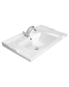 Bayswater Traditional Furniture Basin 600mm Wide 1 Tap Hole BAY1175