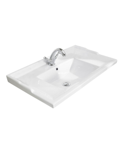 Bayswater Traditional Furniture Basin 800mm Wide 1 Tap Hole BAY1234