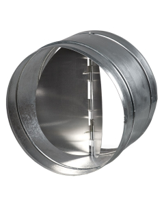 """Blauberg Circular In Line Back Draught Shutter Butterfly Action - 150mm 6"""" BLA10262"""
