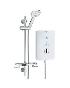 Bristan Designer Bliss Electric Shower, 10.5kw, White BL3105 W