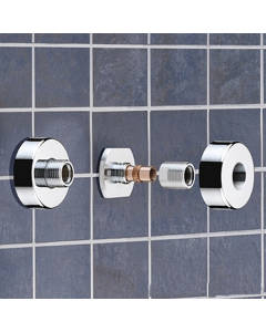Bristan Wall Mount Fixings Chrome Plated WMNT10 C