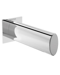Bristan Designer Flute Bath Spout, Wall Mounted, Chrome FLT BS C
