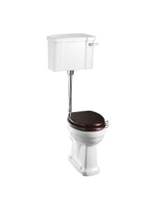 Burlington Standard Low Level Toilet Lever Cistern - Excluding Seat BU10010