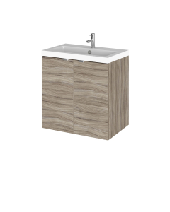 Hudson Reed Fusion Driftwood 500mm Vanity Unit & Basin - CBI240 CBI240