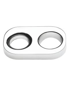 Nuie Shower Accessories Chrome Contemporary Universal Hose Retainer - CIR91 CIR91