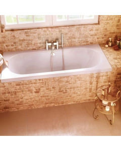 Cleargreen Verde Rectangular Double Ended Bath 1700mm x 750mm - White - R9 R9