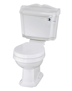Nuie Legend White Traditional Close Coupled WC - CLG003 CLG003