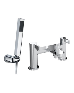 Bristan Clio Bath Shower Mixer Chrome - CLI BSM C CLI BSM C