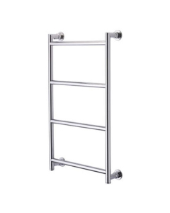 Vogue Vivid Traditional Heated Towel Rail 1250mm High x 650mm Wide, Central Heating - CN021 BR1250650CP CN021 BR1250650CP