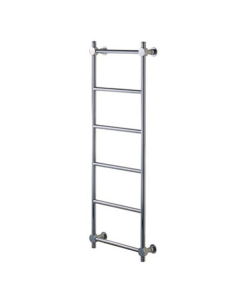 Vogue Venture Traditional Heated Towel Rail 1300mm High x 650mm Wide, Central Heating - CN022 BR1300650CP CN022 BR1300650CP