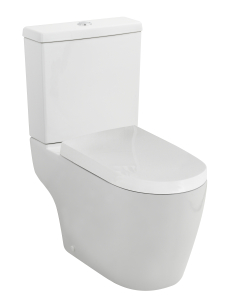 Nuie Provost White Contemporary Semi Flush to Wall WC - CPV005 CPV005