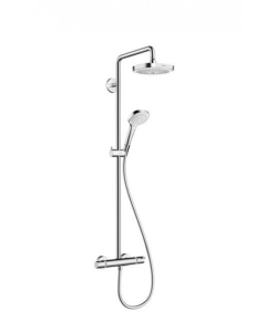 Hansgrohe Croma Select E 180 Showerpipe Exposed Shower Kit - 27256400 27256400