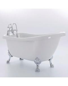 Royce Morgan Crystal 1680 Luxury Freestanding Bath - CRYSTAL-1680 CRYSTAL-1680