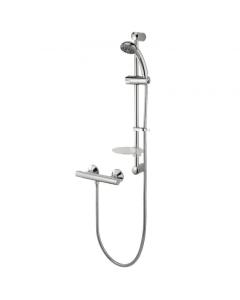 Deva Kestrel Cool Touch Bar Mixer Shower with Shower Kit - KESCTS KESCTS