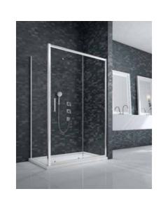 Merlyn Ionic Essence Framed Sliding Door with Side Panel - DWH04C0 DWH04C0