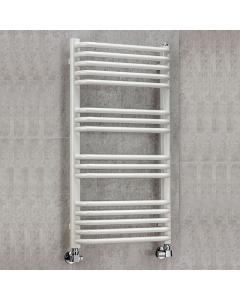 Supplies4Heat Apsley Heated Towel Rail 1300mm Height x 500mm Width White - APSL135024W APSL135024W
