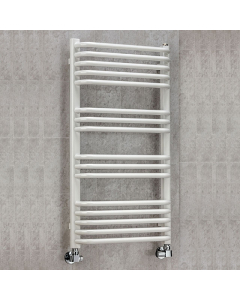 Supplies4Heat Apsley Heated Towel Rail 900mm Height x 500mm Width White - APSL905016W APSL905016W