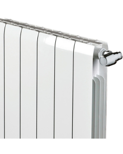 Faral Alliance Aluminium Radiator 430mm H x 1060mm W 13 Sections White FA430-13