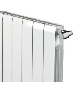 Faral Alliance Aluminium Radiator 880mm H x 740mm W 9 Sections White FA880-9
