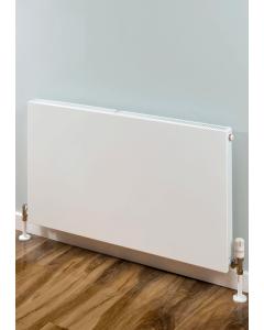 Supplies4Heat Faraday Single Flat Panel Radiator 400mm Height x 600mm Width White - FARA406011 FARA406011