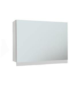 Aquatrend 750mm Gas-Lift Mirrored Cabinet In Gloss White - CV29269/000 CV29269/000