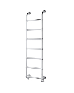 Bestheat Upton Victorian Traditional Towel Rail 900mm High x 500mm Wide In Chrome - 128037 128037