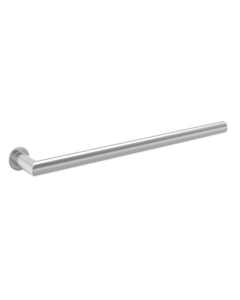 Bestheat Elcot Electric Designer Round Towel Rail Open Ended 32mm High x 600mm Wide In Chrome - 128069 128069