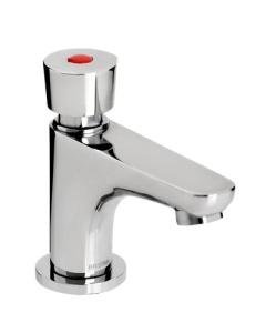 Bristan Single Soft Touch Timed Flow Basin Pillar Tap Chrome Z2 DUS 1/2 C