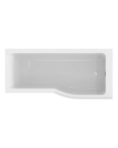 Ideal Standard Concept Air P-Shaped Plus Shower Bath 1700 X 800mm Right Handed - E114501 - E114501 IS10354