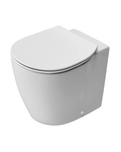 Ideal Standard Concept Aquablade Back to Wall Toilet WC 550mm Projection Slim - Standard Seat White IS10049