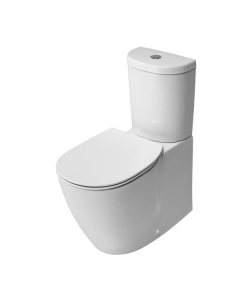 Ideal Standard Concept Arc Close Coupled Toilet WC Push Button Cistern - Soft Close Seat White IS10112