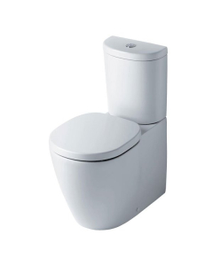 Ideal Standard Concept Arc Close Coupled Toilet WC Push Button Cistern - Standard Seat White IS10098