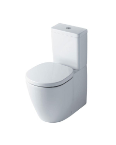 Ideal Standard Concept Aquablade Cube Close Coupled Back to Wall Toilet Cistern Slim - Standard Seat IS10096