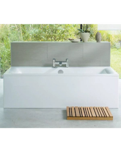Ideal Standard Concept Double Ended Rectangular Bath 1700mm x 750mm 0 Tap Hole White - E735801 - E735801 IS10330