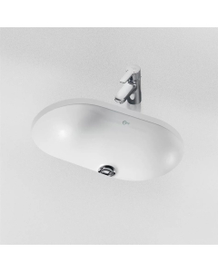 Ideal Standard Concept Oval Under-countertop Basin 480mm Wide - E501801 IS10244